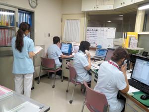 地域医療連携室での連携調整